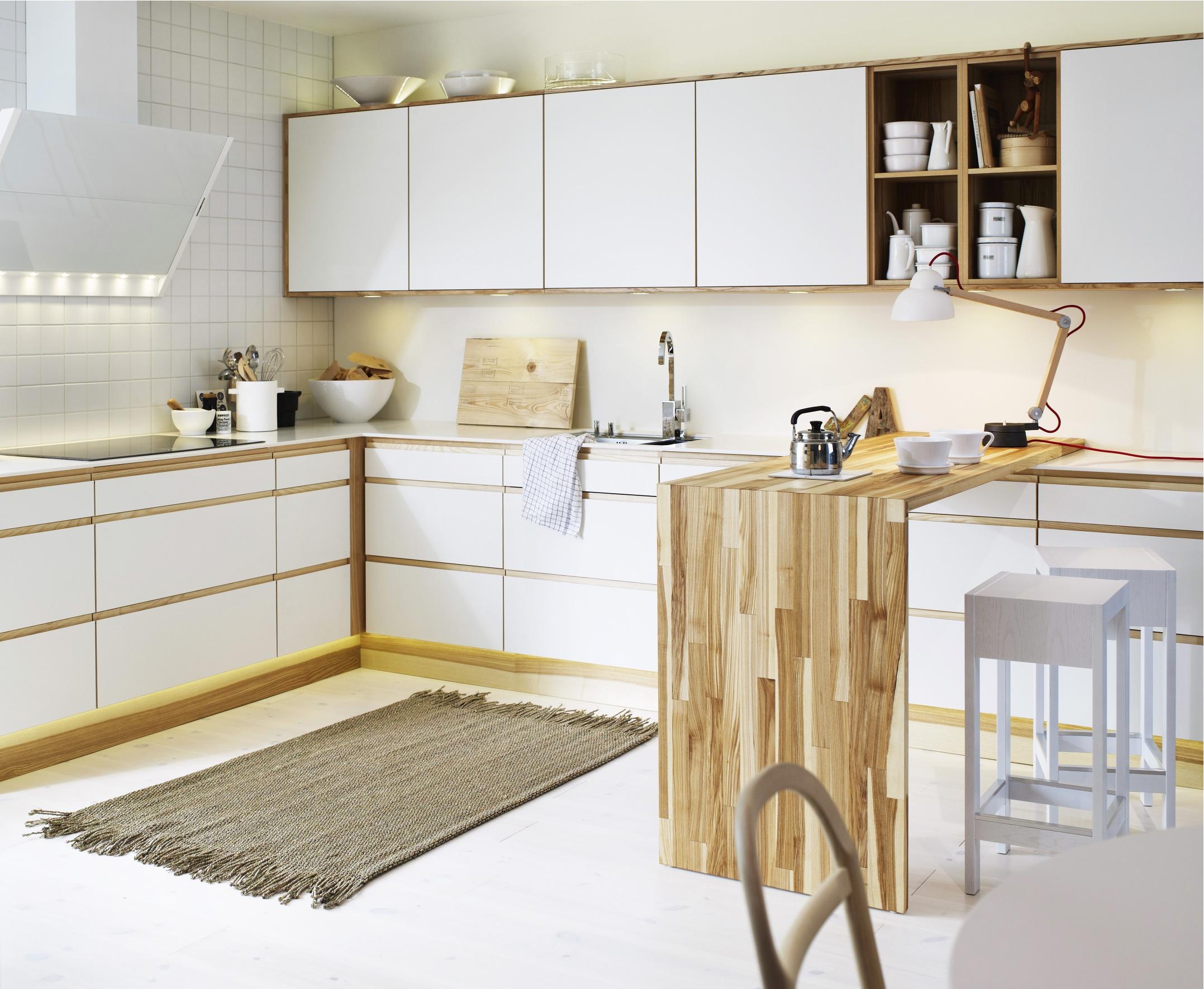 Vitt kök utan handtag ~ Zeedub.com